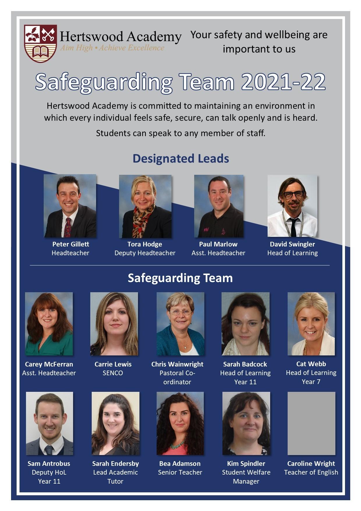 Safeguarding Team v7