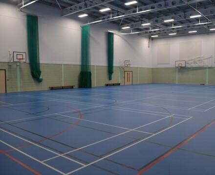 9 sports hall