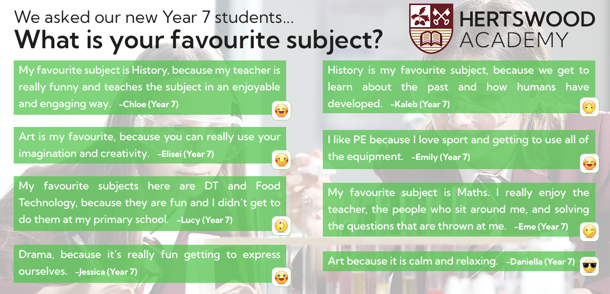 2021 Open Evening Quotes   Subjects